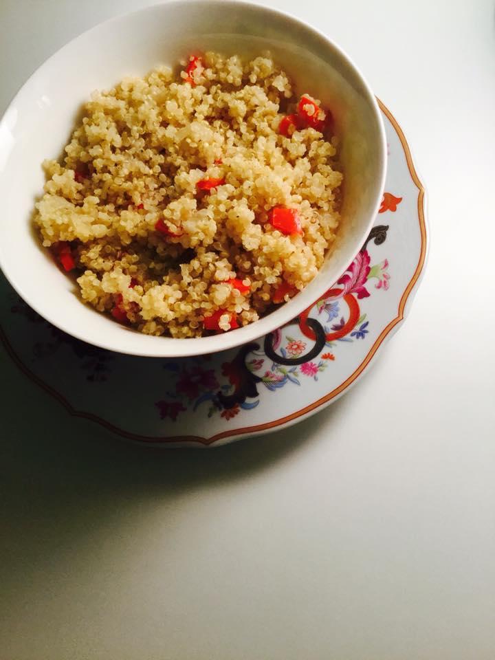 Tachos e Porcelanas - Quinoa de Limão