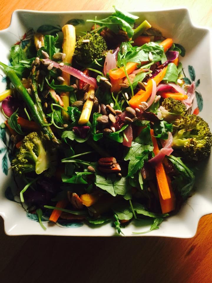 Tachos e Porcelanas - Salada Crocante