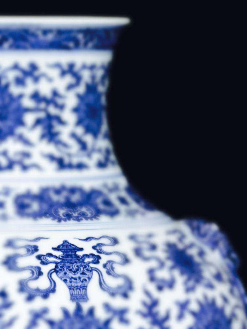 """A simbologia das porcelanas da Dinastia Ming: o """"vaso sagrado"""""""