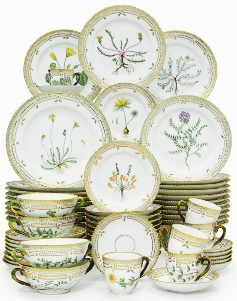 """Tachos e Porcelanas - """"Flora Danica"""" – um tesouro em porcelana"""