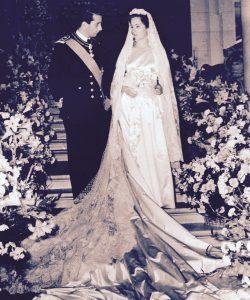 Príncipe Albert II e Paola Ruffo di Calabria Fonte da imagem: Dailymail.co.uk
